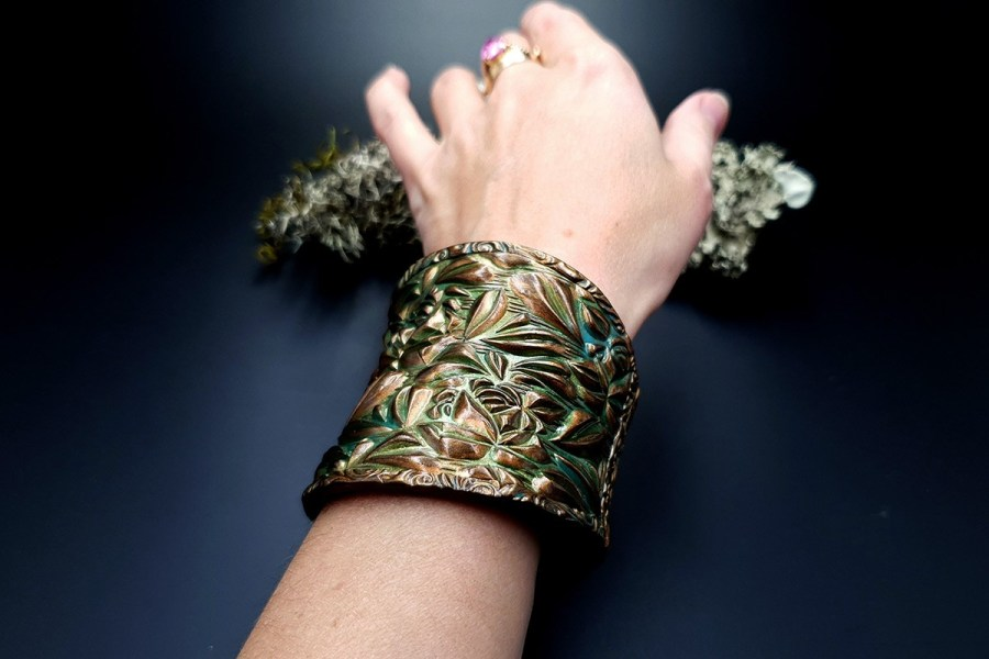 Bracelet Cuff Nature img12