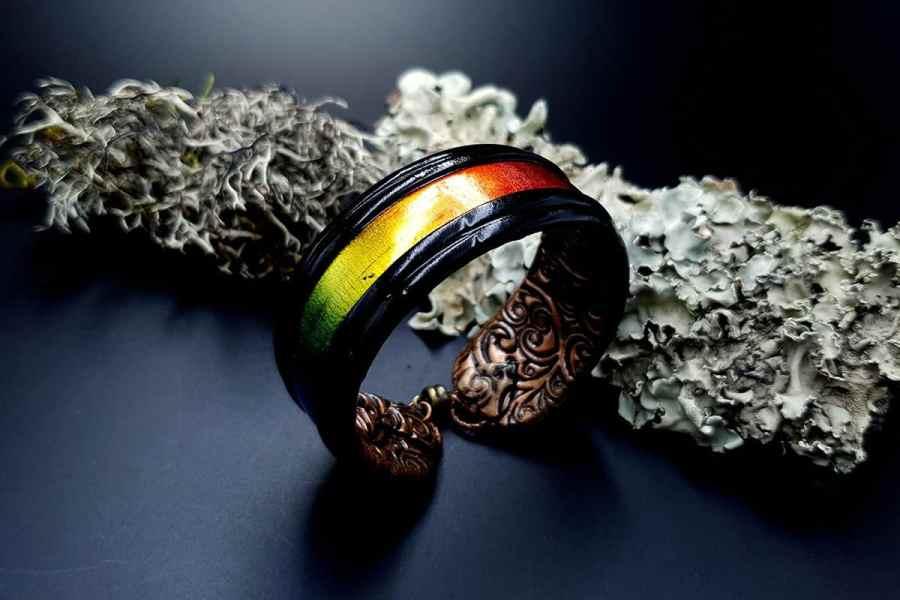Bracelet Cuff Rainbow Dreams img01