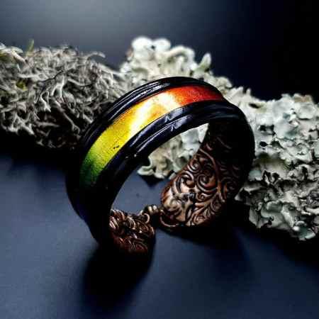 Bracelet Cuff Rainbow Dreams