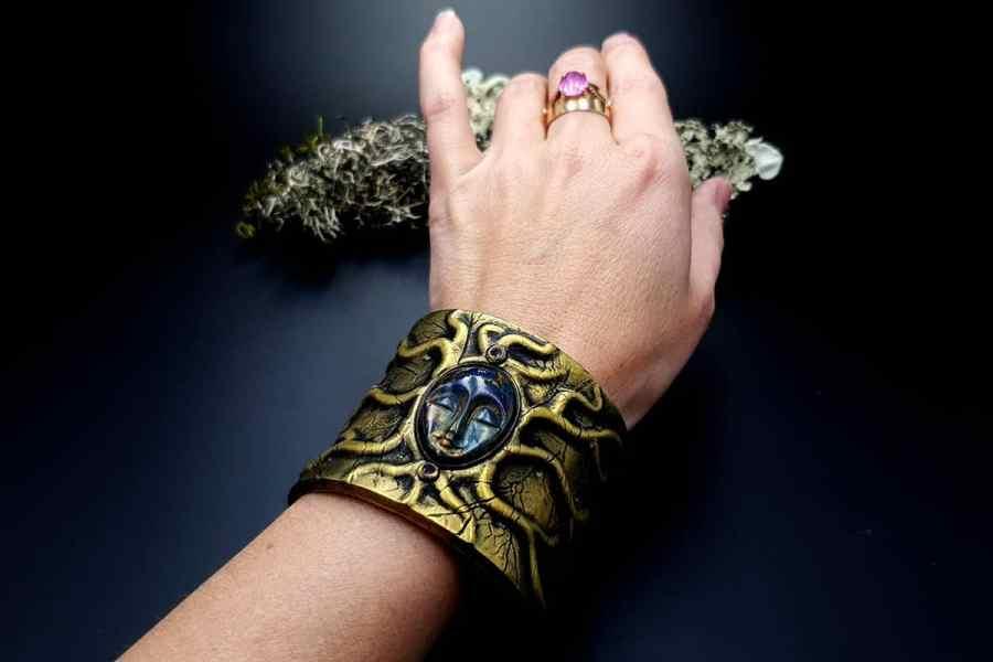Bracelet Cuff The Goddess img14
