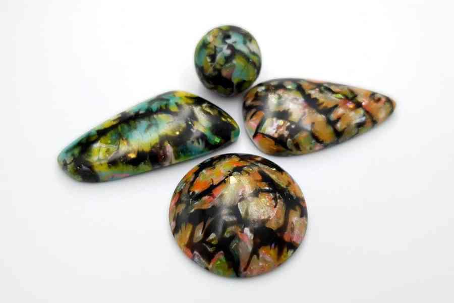 Faux Boulder Opal Set 03 p01