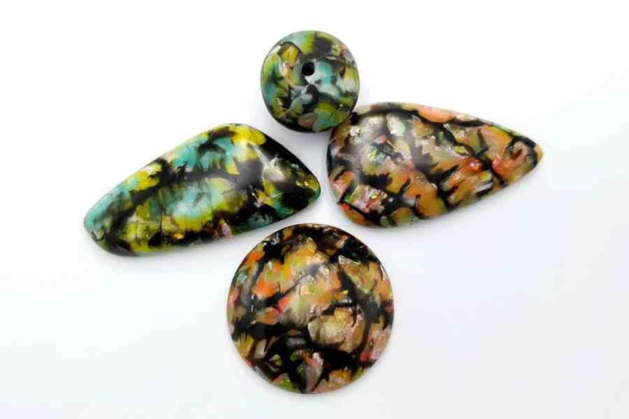 Faux Boulder Opal Set 03 p02