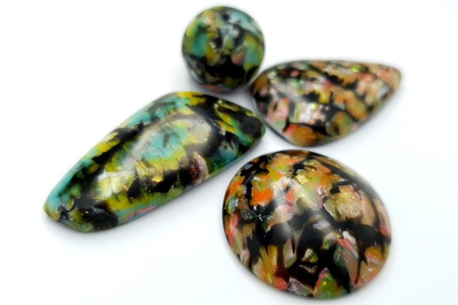 Faux Boulder Opal Set 03 p03
