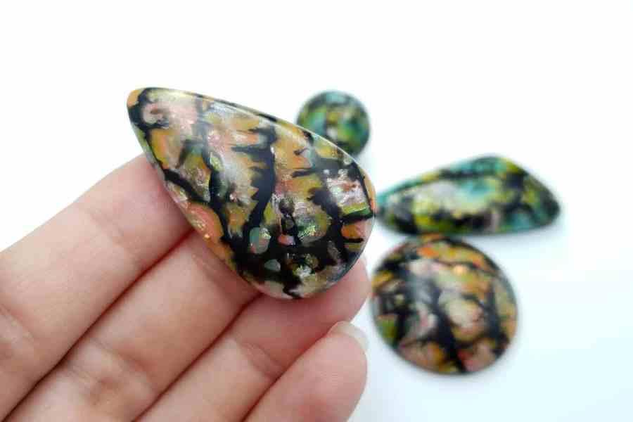 Faux Boulder Opal Set 03 p07