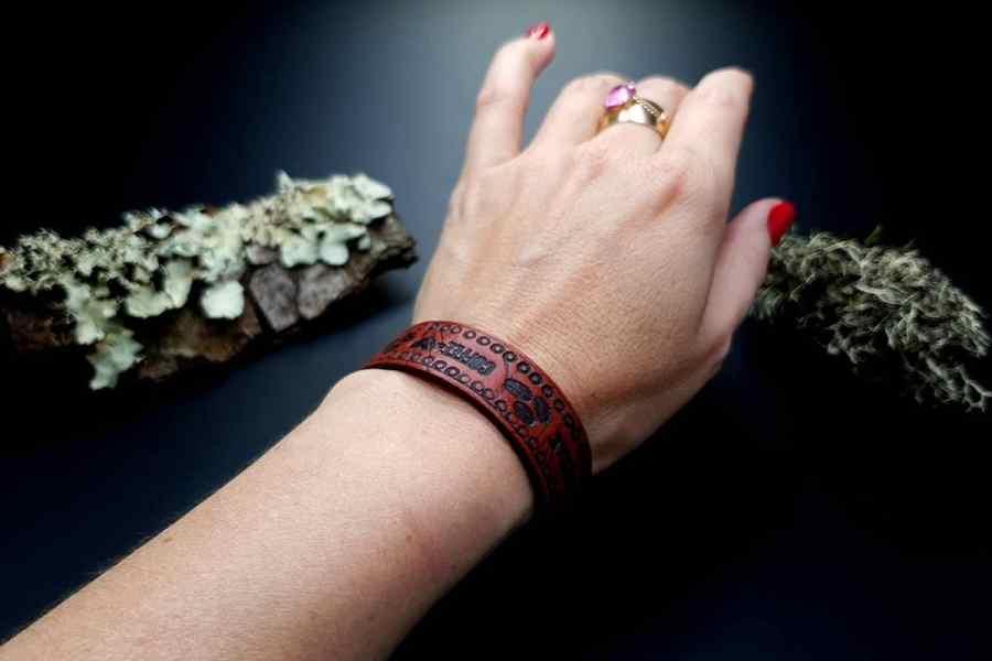 Faux Leather Bracelet 20191012_141117