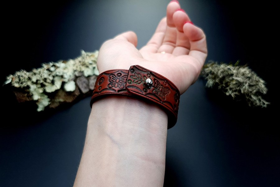 Faux Leather Bracelet 20191012_141423
