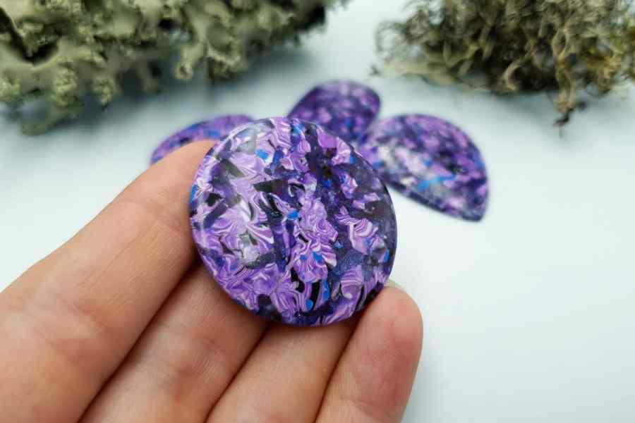 Faux Purple Cabochones 20191007_133159