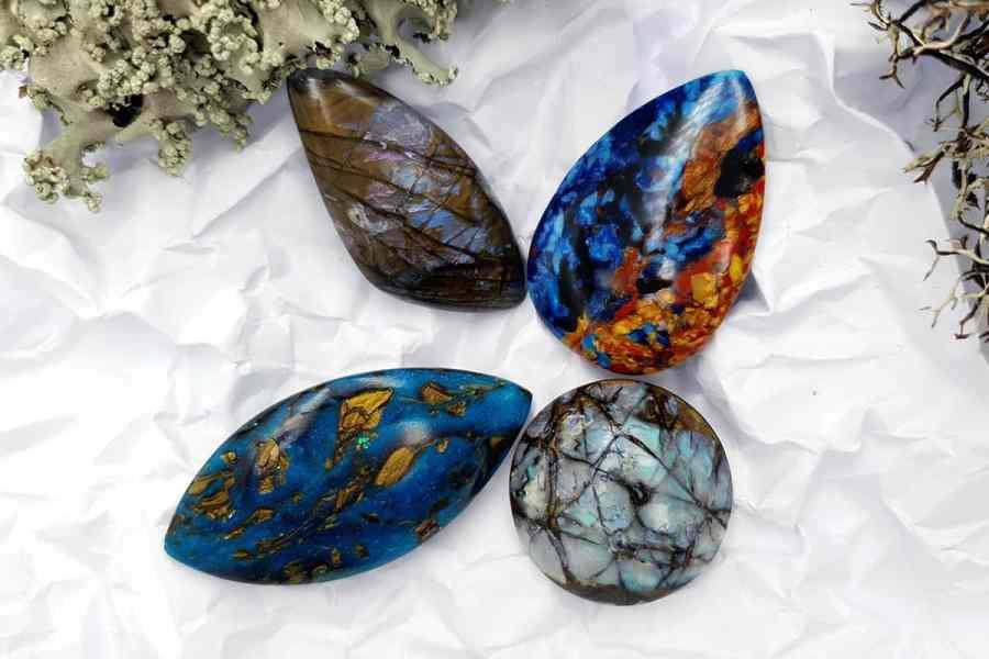 Labradorite Pietersite Stone Mix 20191006_130340