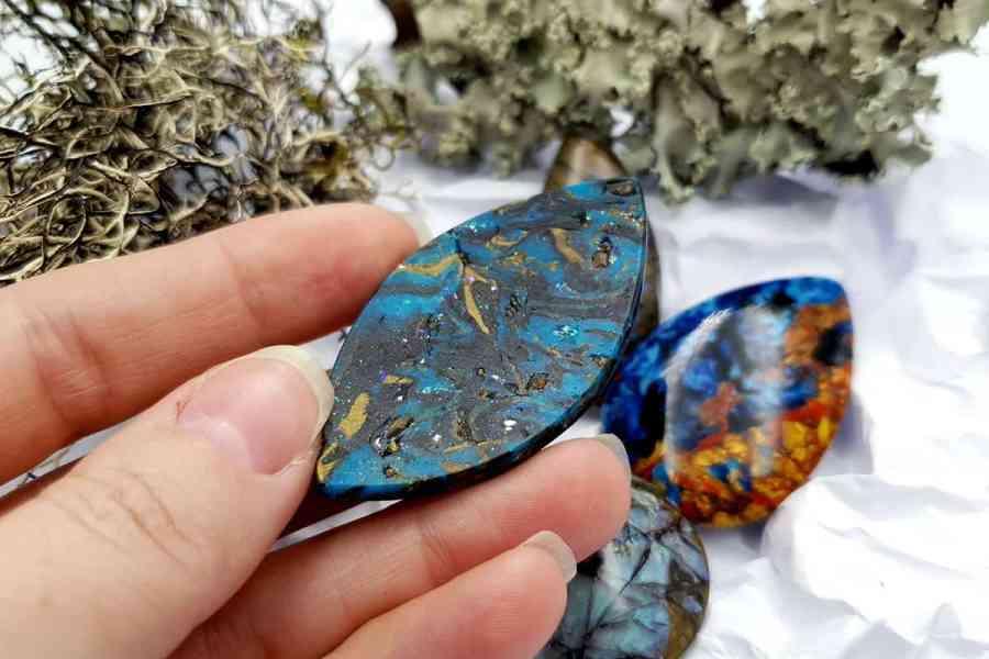 Labradorite Pietersite Stone Mix 20191006_130654