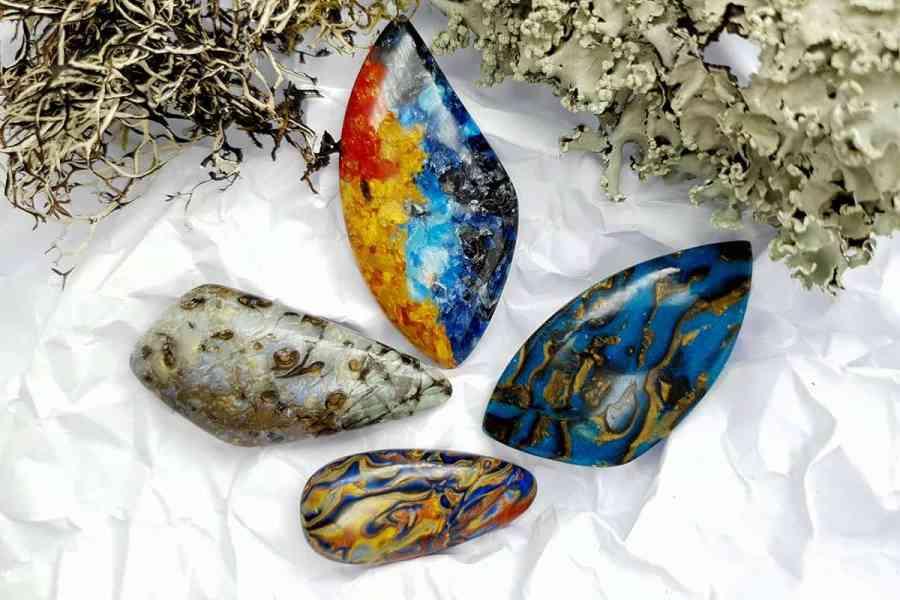 Labradorite Pietersite Stone Mix 20191006_131756