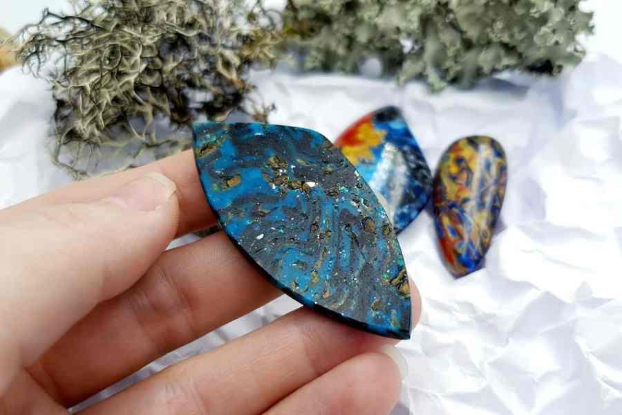 Labradorite Pietersite Stone Mix 20191006_132349