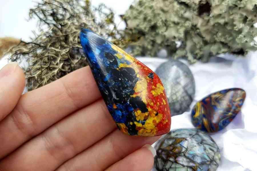 Labradorite Pietersite Stone Mix 20191006_132703