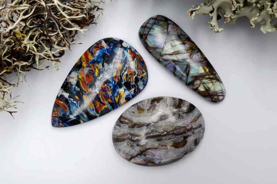Labradorite Pietersite Stone Mix 20191006_134007