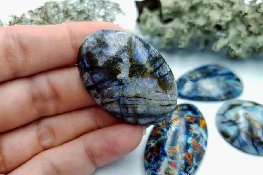 Labradorite Pietersite Stone Mix 20191006_135703