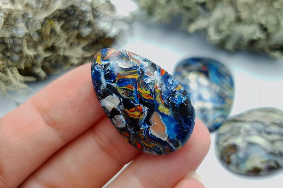 Labradorite Pietersite Stone Mix 20191006_140328