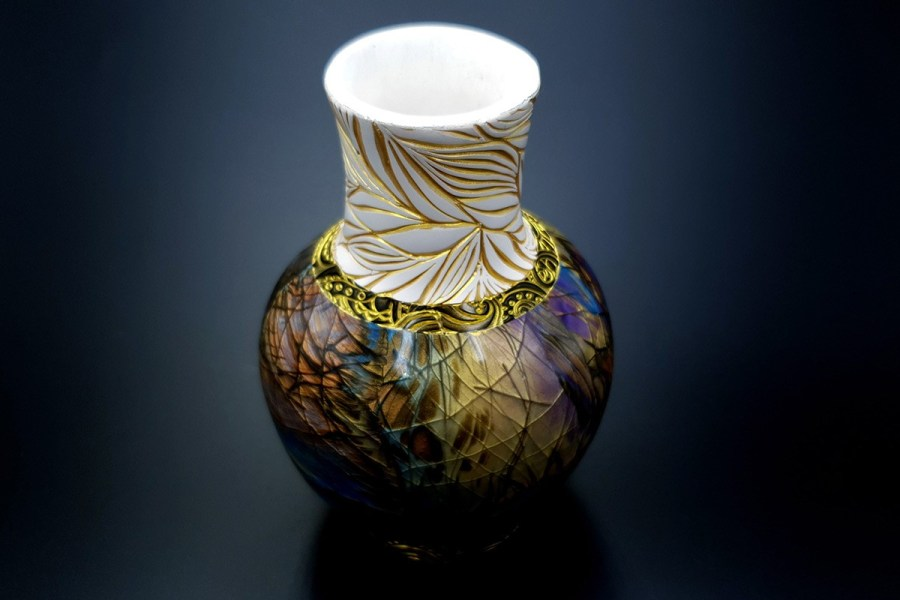 Labradorite Vase1 p16
