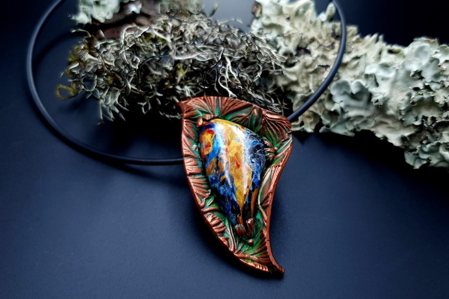 Polymer Clay Necklace 20191009_164310