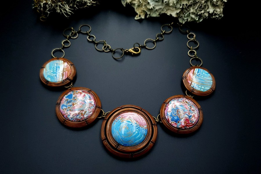 Polymer Clay Necklace 20191009_202248