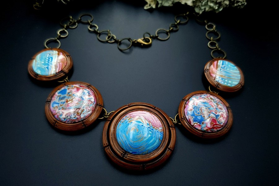 Polymer Clay Necklace 20191009_202254