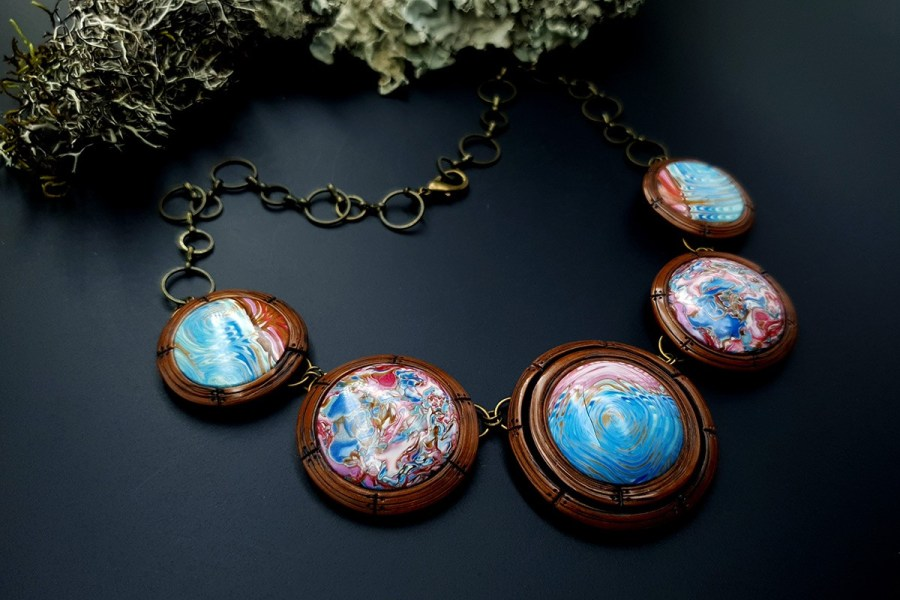 Polymer Clay Necklace 20191009_202300