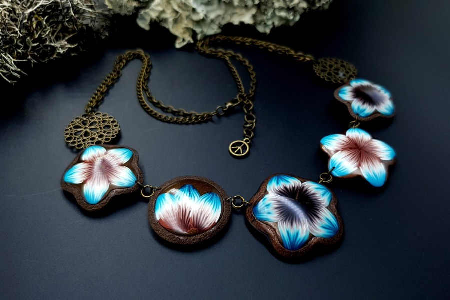 Polymer Clay Necklace 20191009_202738