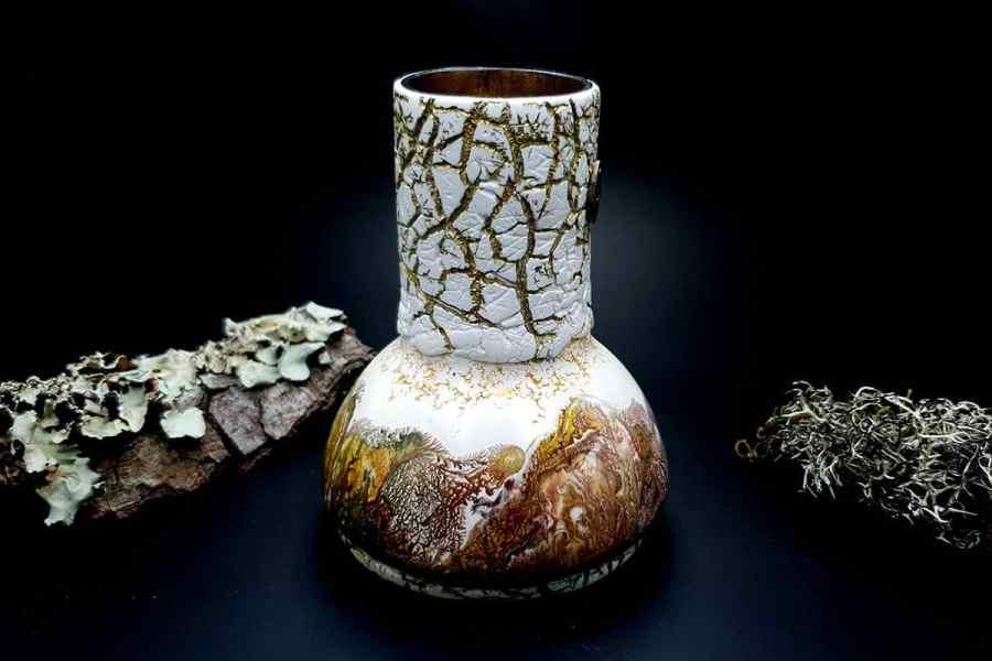 Polymer Clay Vase 20191012_211507