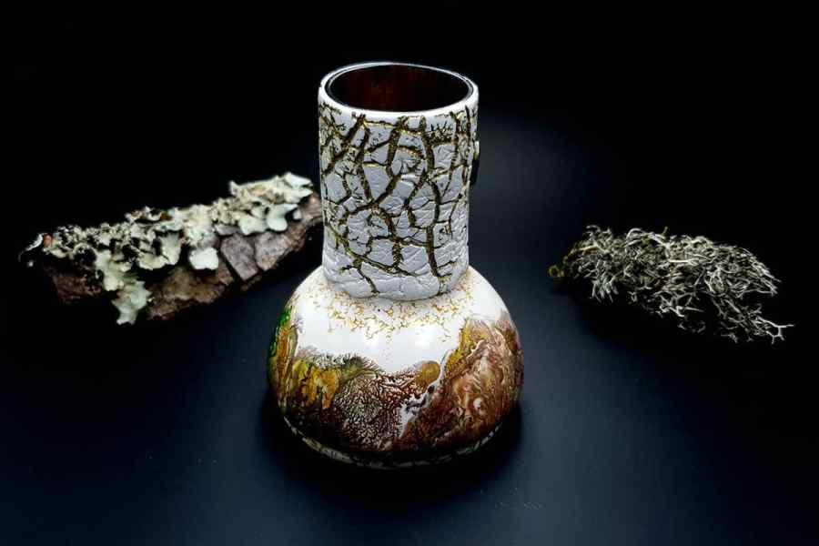 Polymer Clay Vase 20191012_211608