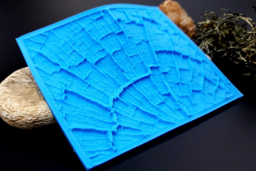 Silicone Texture Cracked Wood - 110x85mm 11