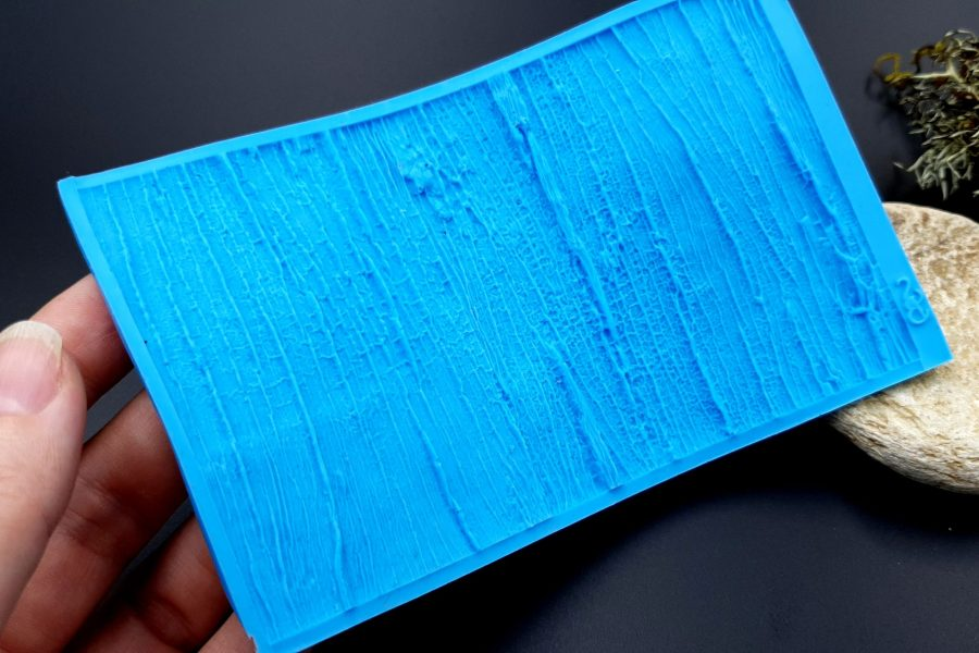 Silicone Texture Old Wood - 135x80mm