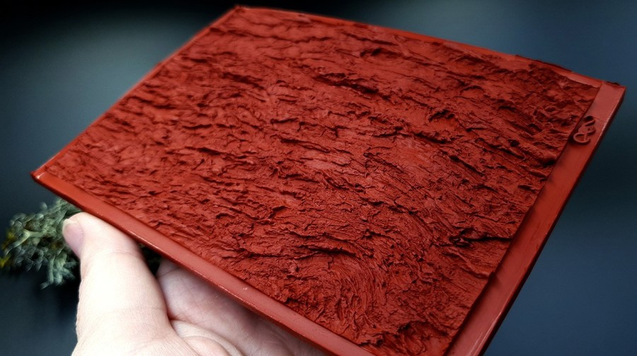 Silicone Texture Bark of Thai Pine Tree #1 - 135x90mm 10