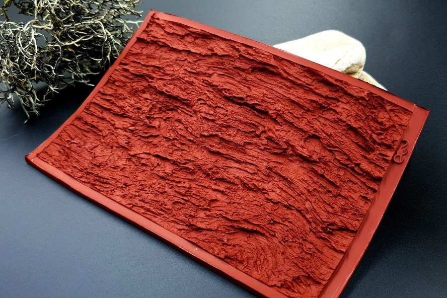 Silicone Texture Bark of Thai Pine Tree #1 - 135x90mm 6