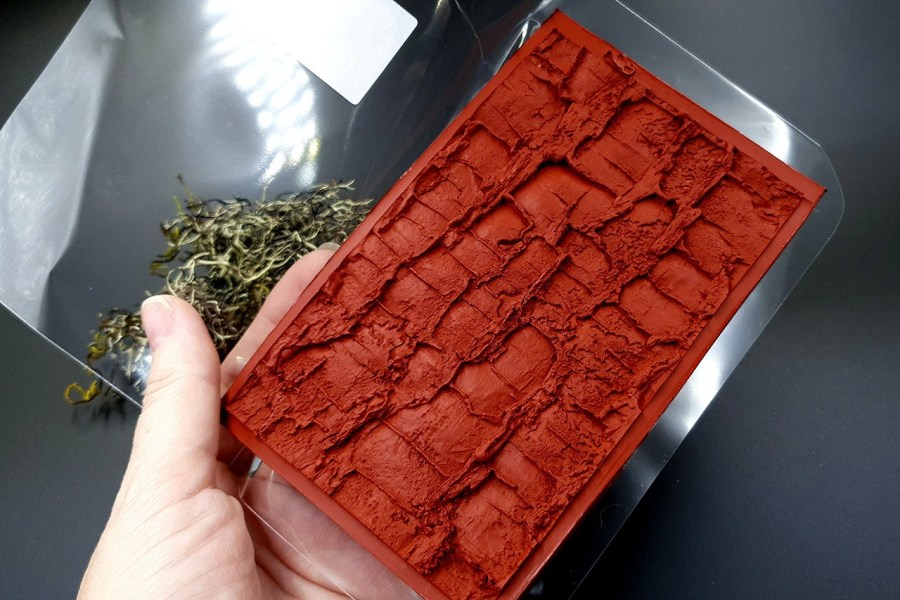 Silicone Texture Forest Tree Bark (Vertical) - 130x83mm 11