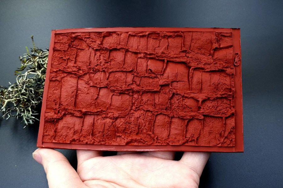 Silicone Texture Forest Tree Bark (Vertical) - 130x83mm 9