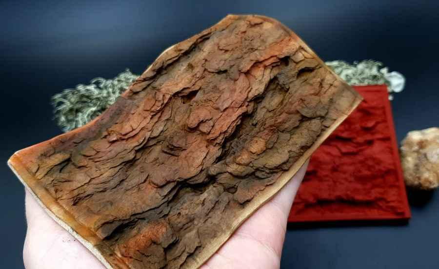 Silicone Texture Pine Tree Bark - 135x90mm 5