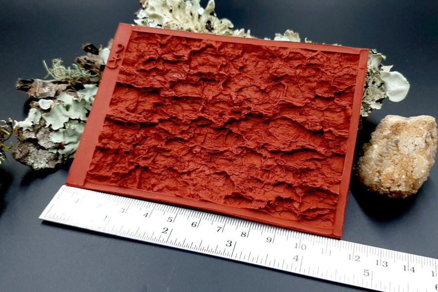 Silicone Texture Tree Bark #2 - 120x80mm 8