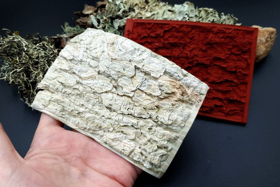 Silicone Texture Tree Bark #2 - 120x80mm 4