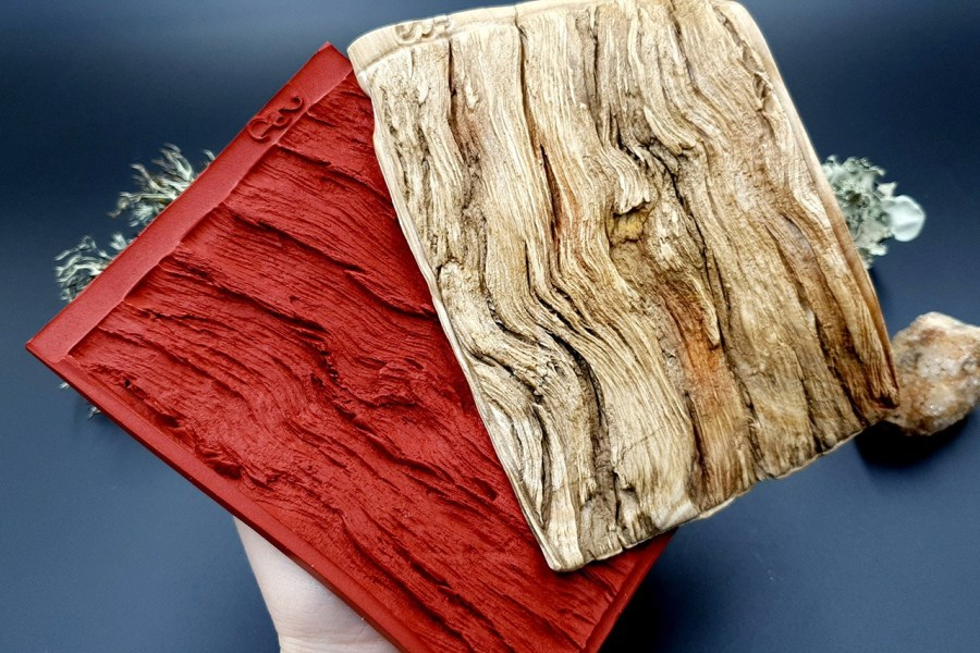 Silicone Texture Drift Wood #1 - 130x95mm 4