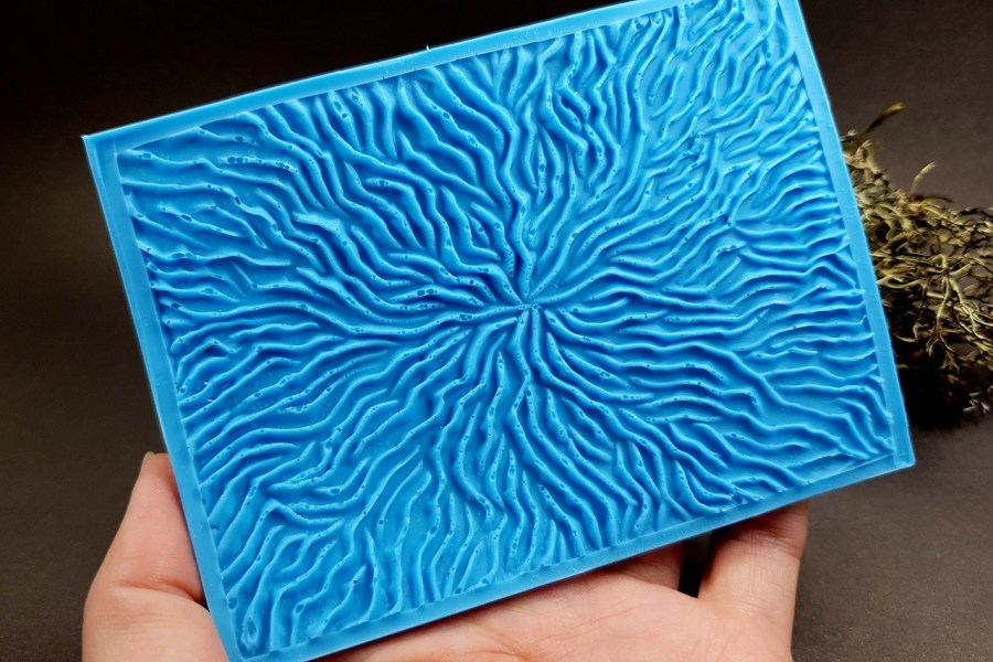 Silicone Texture The Corals (Opposite) - 108x80mm 4