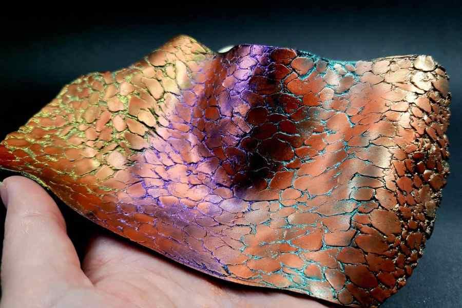 Silicone Texture Druzy Stone - 150x75mm 3