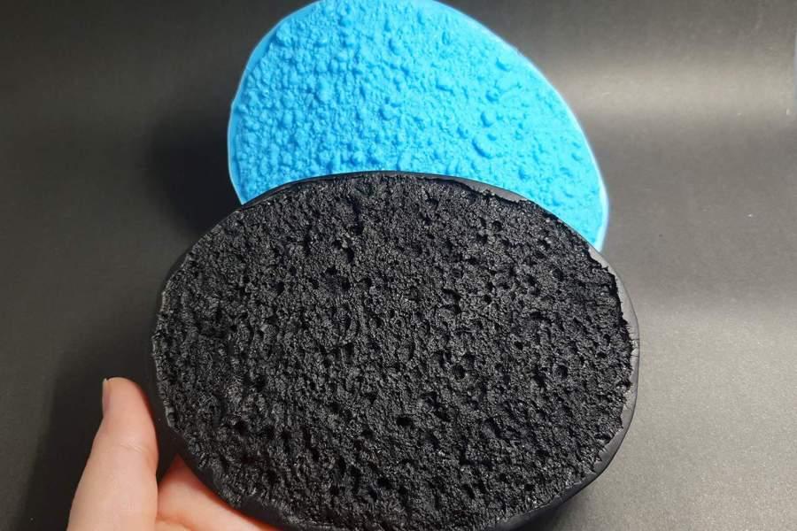 Silicone Texture Lava Stone - 140x92mm 1
