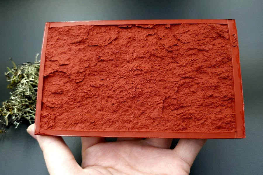 Silicone Texture Sea Mountain Rock - 80x135mm 12