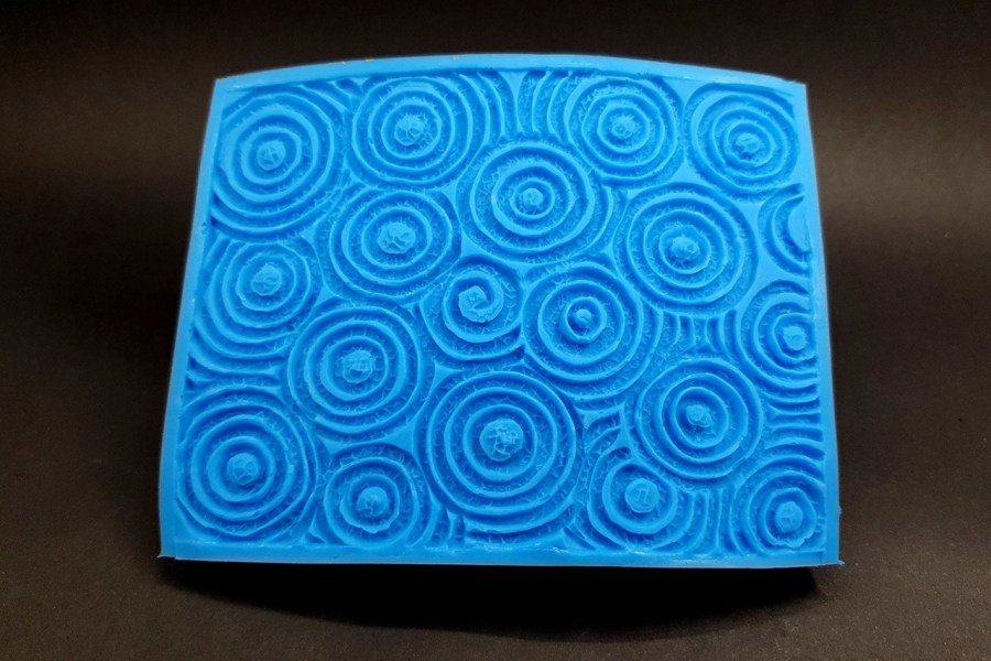 Silicone Texture The Circles (Textured) - 108x80mm 12