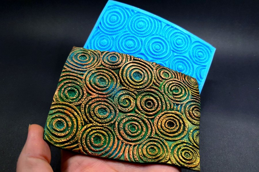 Silicone Texture The Circles (Textured) - 108x80mm 7