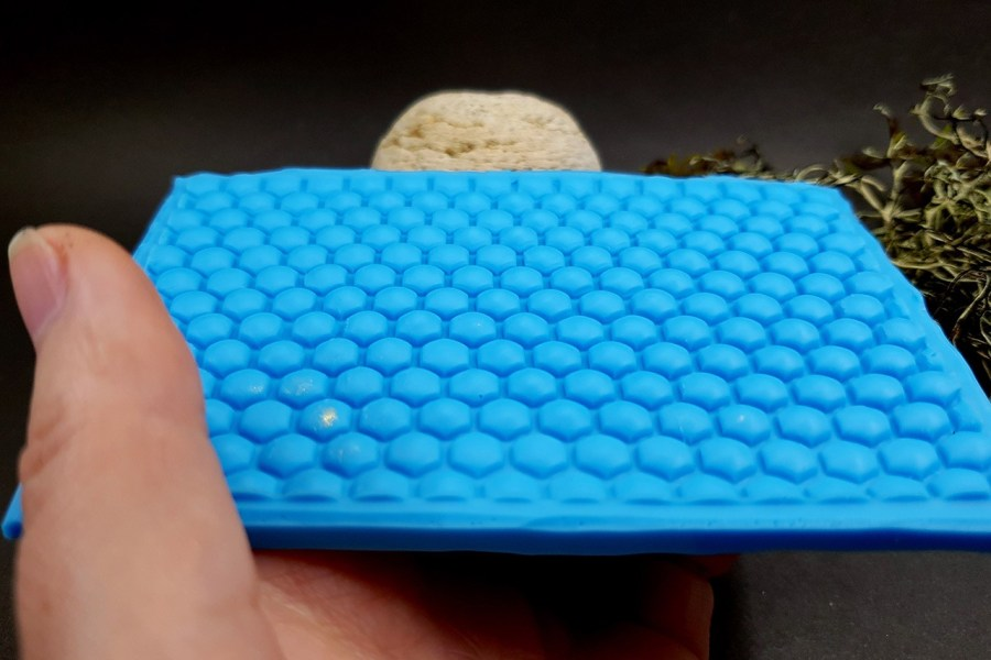 Silicone Texture Honeycomb - 105x75mm 3