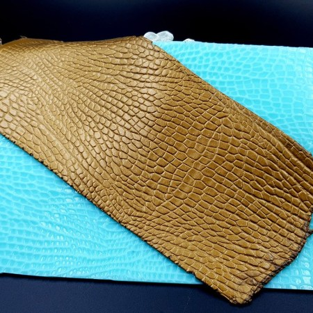 Silicone Texture Reptile Skin Leather – 180x110mm