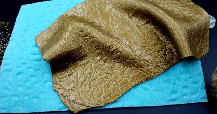Silicone Texture Crocodile Skin #1 Leather - 180x120mm