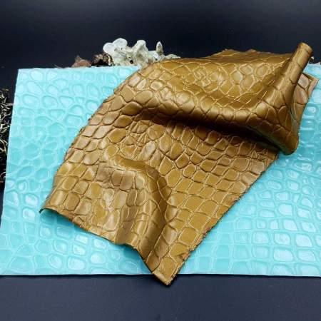 Silicone Texture Crocodile Skin #2 Leather – 180x120mm