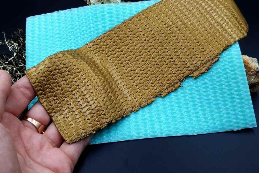 Silicone Texture Weaving Grain #1 - 180x120mm 7