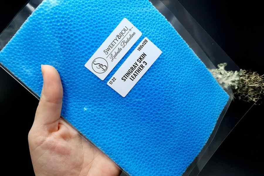 Stingray Skin #3 Pattern Silicone Texture - 180x120mm