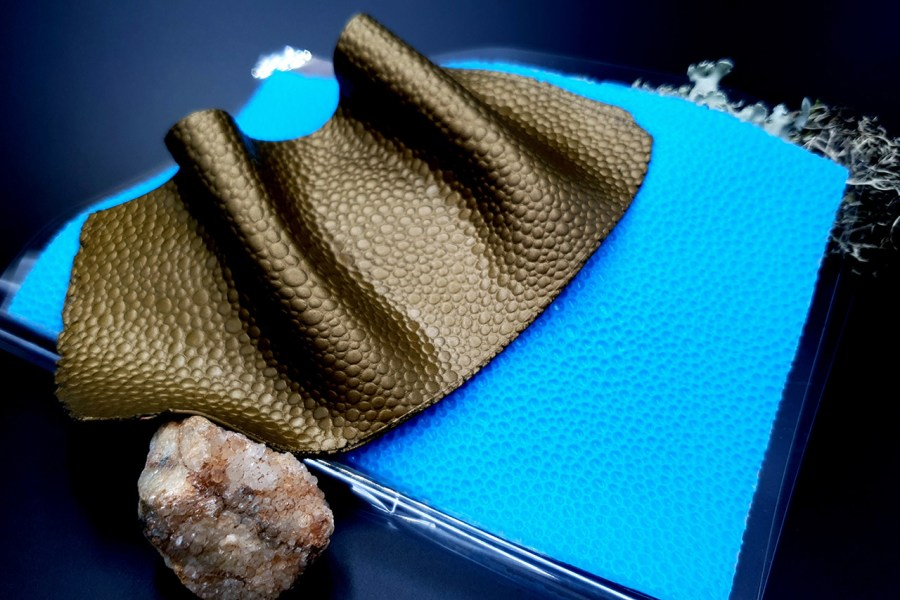 Stingray Skin #3 Pattern Silicone Texture - 180x120mm 2